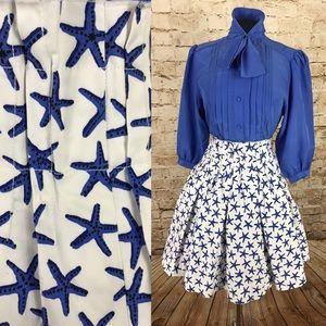 Kate Spade Broome Street starfish skirt